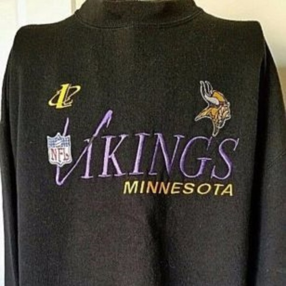 online retailer 2dcba 80019 Minnesota Vikings Sweatshirt Large Embroidered NFL
